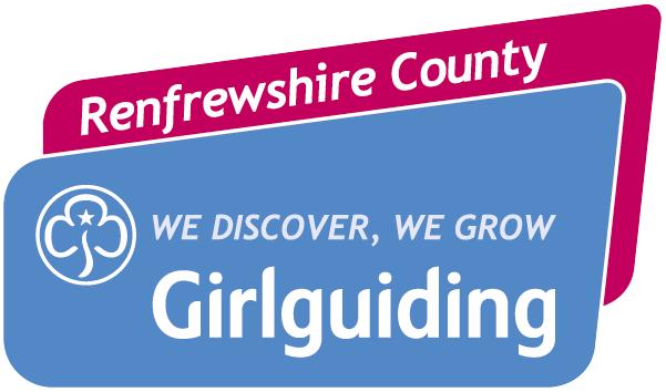 Girlguiding Renfrewshire County Logo