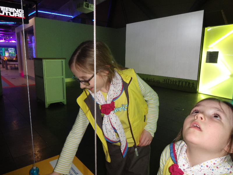 Brownies at the Science Centre