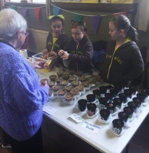 Brownies selling cakes